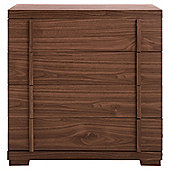 Brandon 4 Drawer Chest, Walnut-Effect