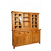 Hawkshead Calgary 3 Drawer 3 Door Buffet and Hutch