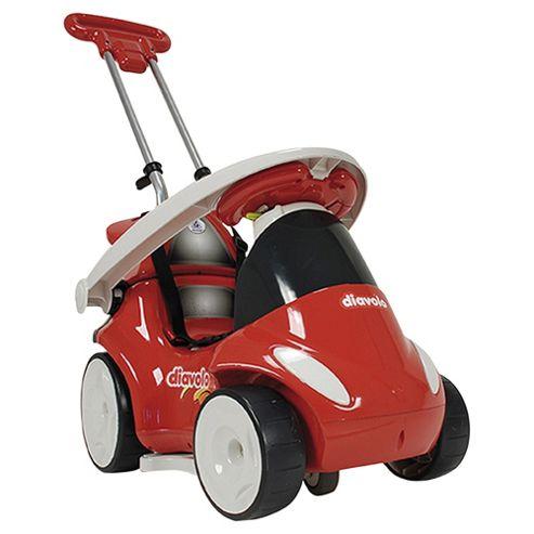 Injusa Diavolo 7-in-1 Quad Ride-On