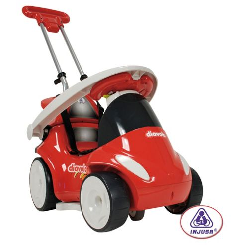 Injusa Diavolo 7-in-1 Ride-On