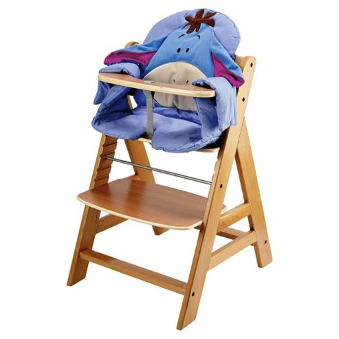 Hauck Alpha Wooden Highchair With Disney Pad, Eeyore