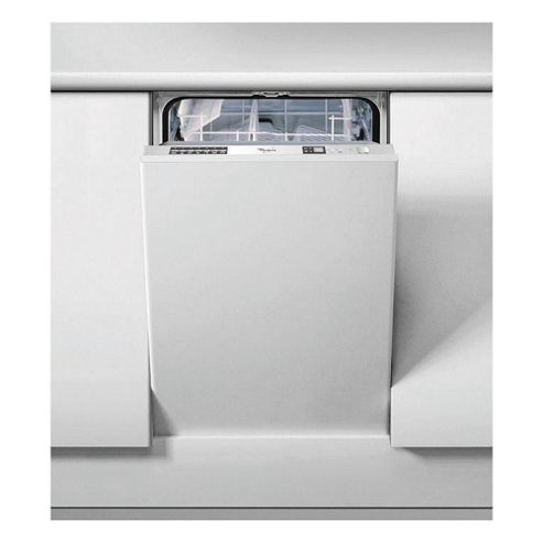 Whirlpool ADG175 Integrated Slimline Dishwasher, A Energy Rating. White