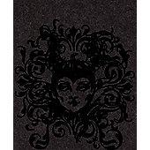 Graham & Brown Midnight Maleficent Flock Wallpaper