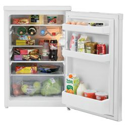 Beko LA620W 135L Fridge, Capacity 135 Litres, Energy Rating A, Width 54.5cm. White