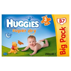 Huggies Super-Dry Value Box 3