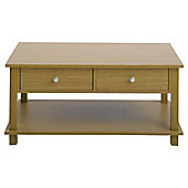Milton Coffee Table, Oak-effect