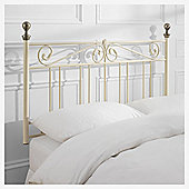 Seetall Aylsham Headboard Cream Double