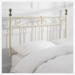 Aylsham Double Headboard, Cream