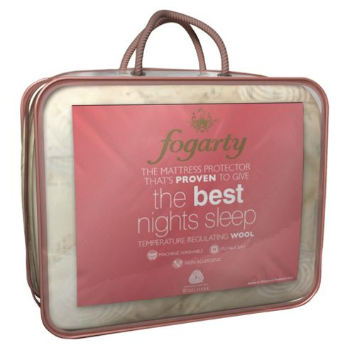 Fogarty Wool Best Nights Kingsize Mattress Protector