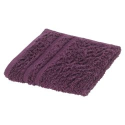 Tesco Face Cloth, Aubergine