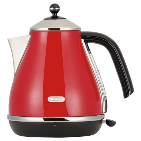 De'Longhi KBO3001R 1.7 litre Red Icona Jug Kettle
