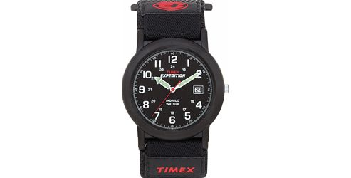 Timex Expedition MidSize Watch Black