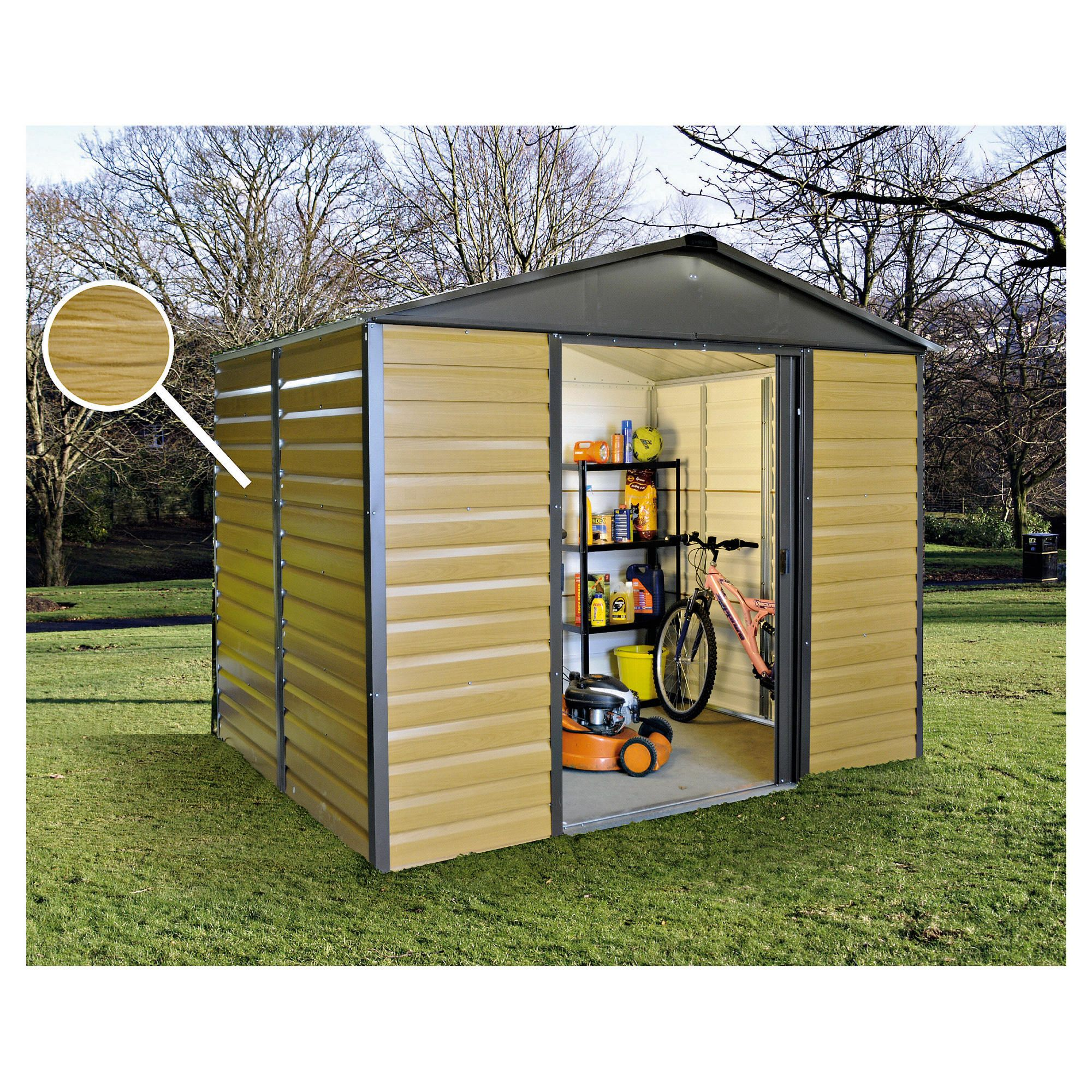 Keter Apex 8x6 Shed Instructions
