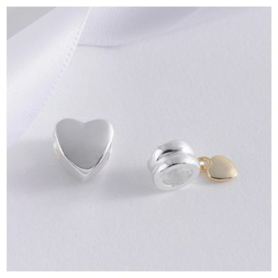 Sterling Silver Heart 2 Pack