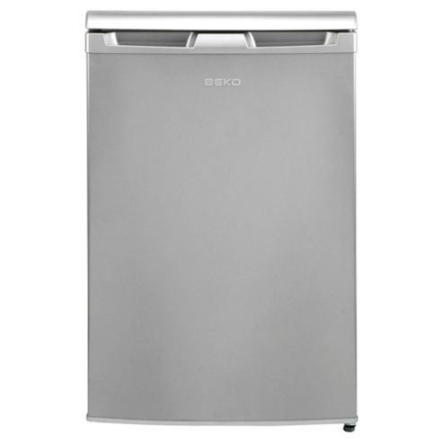 Beko RA610 fridge, Capacity 110 Litres, Energy Rating A, Width 54.5cm. Silver
