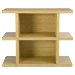 Torino Low Shelving Unit, Oak-effect