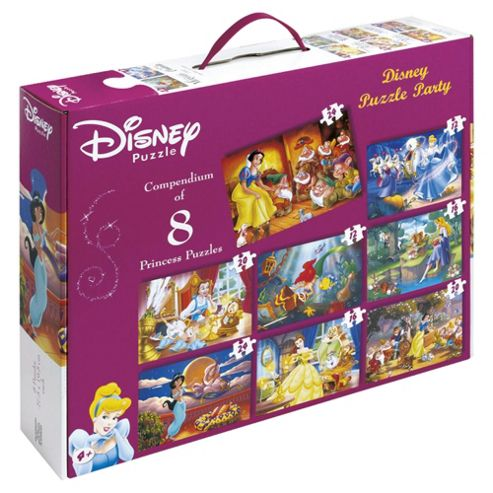 Disney Puzzle Box 8 Jigsaws