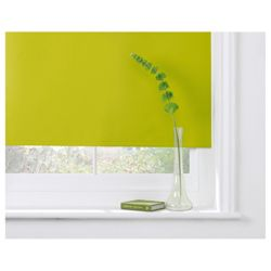 Thermal Blackout Blind, Kiwi Green 90Cm