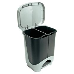 24L duo recycling bin