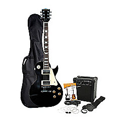 Rockburn LP2-BK-PK : Ultimate Guitar Pack (Black)