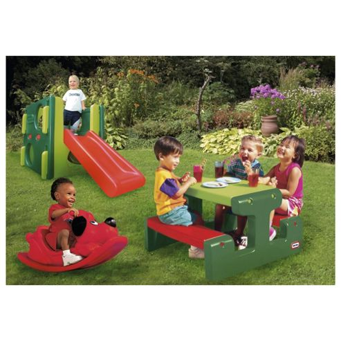 Little Tikes Bundle Deal (Rocker, Picnic Table & Junior Activity Gym)