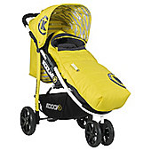 Koochi Pushmatic Pushchair, Primary Yellow