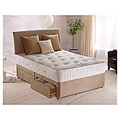 Sealy Purity Pocket Ortho Double Non Storage Divan Bed