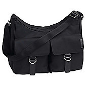 Koo-di Little Lifestyle Hobo Bag, Black