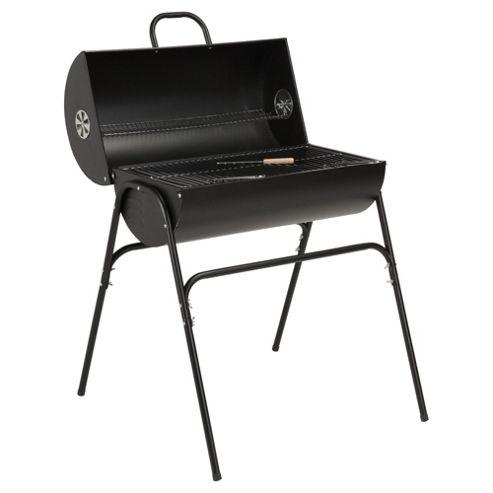 Tesco Barrel Charcoal BBQ