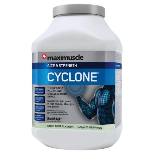 Maximuscle Cyclone 1.2kg Choc Mint
