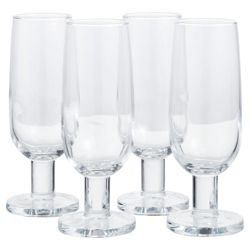 Jamie Oliver Set of 4 Champagne Wine Glasses