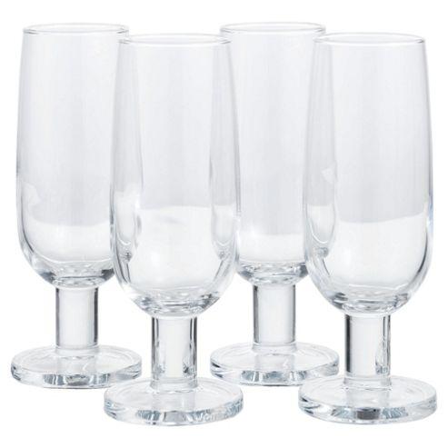 Jamie Oliver Set of 4 Champagne Wine Glasses