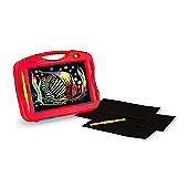 Melissa & Doug Scratch Art Portable Light Box