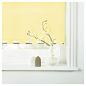 Turret Roller Blind, Buttercup Yellow 60Cm