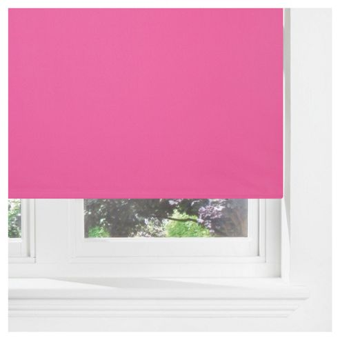 Sunflex Thermal Blackout Blind, Fuchsia 120cm