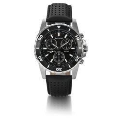 Accurist Chronograph Leather Strap Watch