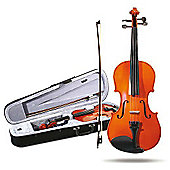 Windsor 1/4 Size Student Violin: Lightweight Zipped Case With Shoulder Strap Mi-1013