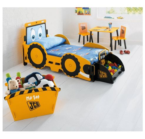 Buy My 1St Jcb Digger Junior Bed Frame From Our Cot Beds
