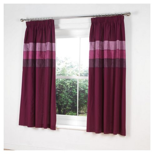 Tesco Nanza Curtains W168xL183cm (66x72