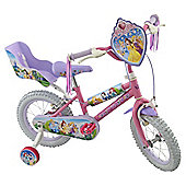 "Disney Princess 14"" Kids' Bike with Stabilisers"
