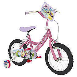 "Disney Princess 14"" Kids' Bike with Stabilisers"