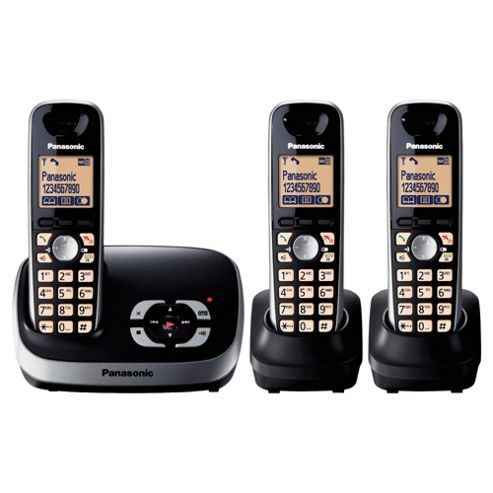 Panasonic KX-TG6523EB Triple Telephone