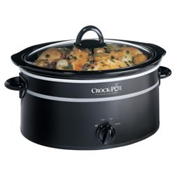 Crock-Pot 3.5L Black Slow Cooker