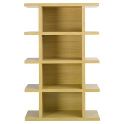 Torino Tall Shelving Unit, Oak-effect