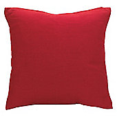 Tesco Basic Cushion Cover, Red