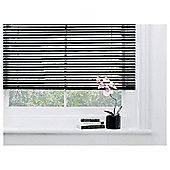 Sunflex Aluminium Venetian Blind, Black Gloss 90Cm