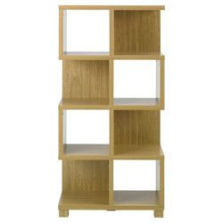 Camden Tall Bookcase, Oak-effect