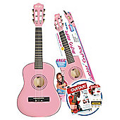 "Music Alley 30"" Junior Guitar Pack - Pink"