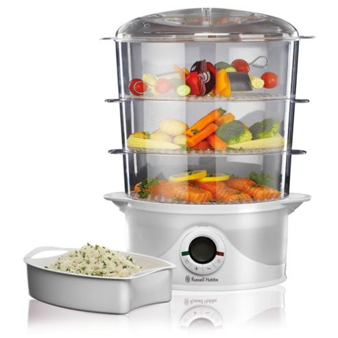 Russell Hobbs 17910 3 Tier Digital Food Steamer