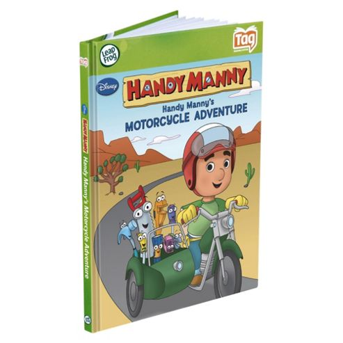 LeapFrog Tag Handy Manny's Motorcycle Adventure